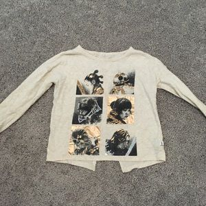Gap Girls Star Wars split back tee